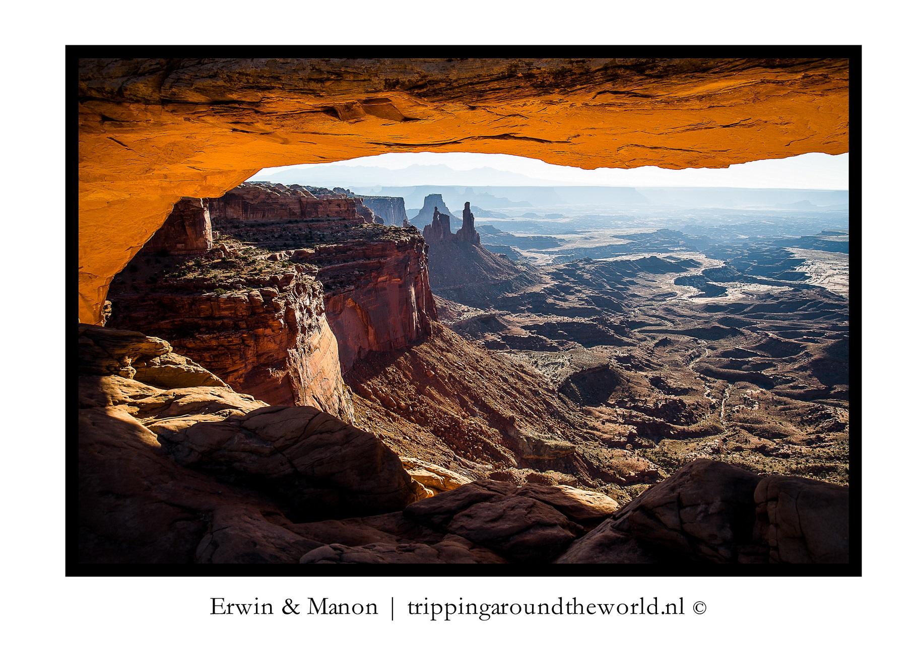 Sunrise Mesa Arch#1