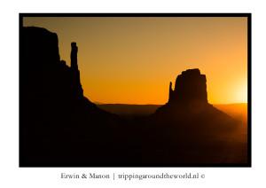De mooiste zonsondergangen en zonsopkomsten van west Amerika