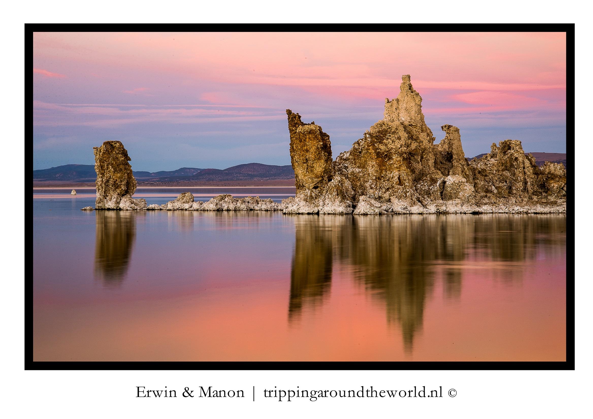 zonsondergang Mono Lake#2