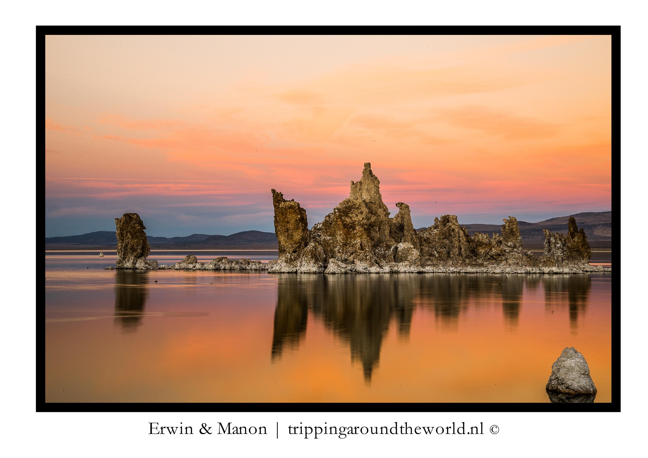 zonsondergang Mono Lake#6